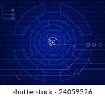 hi tech background | Shutterstock .eps vector #24059326