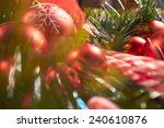 christmas decoration | Shutterstock . vector #240610876