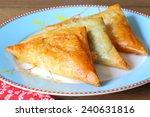 Greek Feta Cheese Triangle Pie...