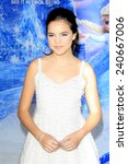 Small photo of LOS ANGELES - NOV 19: Bailee Madison at the premiere of Walt Disney Animation Studios' 'Frozen' at the El Capitan Theater on November 19, 2013 in Los Angeles, CA