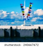flags pier backdrop background... | Shutterstock . vector #240667672