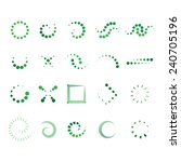 design elements set   isolated... | Shutterstock .eps vector #240705196