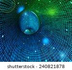 illustration depicting random...   Shutterstock . vector #240821878