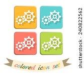 symbol settings. cogwheel  icon ...   Shutterstock .eps vector #240822562