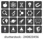 science icons  modern flat... | Shutterstock .eps vector #240823456