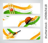 website header or banner set... | Shutterstock .eps vector #240865618