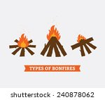 three types of campfires for...