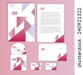 corporate business set design | Shutterstock .eps vector #240921322