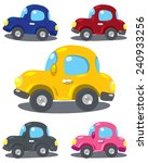 set of small funny vector... | Shutterstock .eps vector #240933256