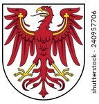coat of arms of brandenburg | Shutterstock .eps vector #240957706