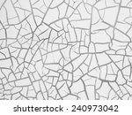 cracked texture | Shutterstock . vector #240973042