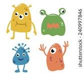 cartoon alien creatures...