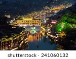Elevated View Of Fenghuang...