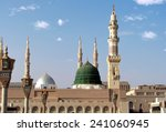 masjid al nabawi or nabawi... | Shutterstock . vector #241060945