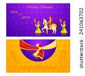 vector illustration of indian... | Shutterstock .eps vector #241063702