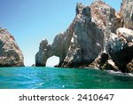 amazing natural arch in... | Shutterstock . vector #2410647
