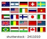 flag buttons | Shutterstock . vector #2411010