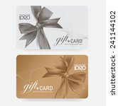 voucher template with premium... | Shutterstock .eps vector #241144102
