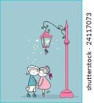 secret of street lanter | Shutterstock .eps vector #24117073