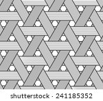 basketwork drawing. only black...   Shutterstock .eps vector #241185352