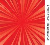 red color burst background....   Shutterstock .eps vector #241192675