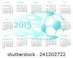 calendar for 2015 year | Shutterstock .eps vector #241202722