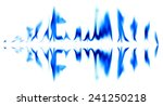 graphic light blue on a white... | Shutterstock . vector #241250218