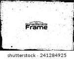 grunge frame   abstract texture.... | Shutterstock .eps vector #241284925