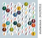 flat design  card | Shutterstock .eps vector #241292512