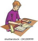 classroom | Shutterstock .eps vector #24130999