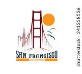 Skyline Of San Francisco Vecto...