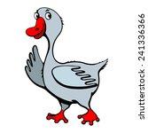 goose | Shutterstock .eps vector #241336366