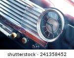 Color Shot Of A Vintage Clock...