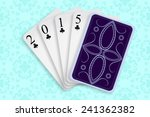 2015 playing cards against... | Shutterstock .eps vector #241362382