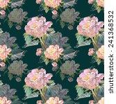 summer flower seamless pattern   Shutterstock . vector #241368532