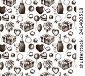 seamless background with  ink... | Shutterstock . vector #241400518