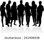 group of people    Shutterstock .eps vector #241408438