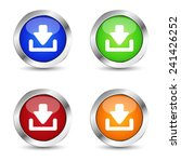 e business and web buttons set... | Shutterstock .eps vector #241426252