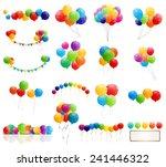 Color Glossy Balloons Mega Set...