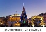 vilnius  lithuania   december... | Shutterstock . vector #241462576