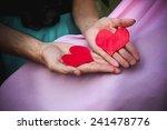 heart in hands   Shutterstock . vector #241478776