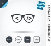 coder sign icon. programmer... | Shutterstock .eps vector #241495396