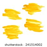 hand made oil paint brush... | Shutterstock . vector #241514002