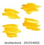 hand made oil paint brush... | Shutterstock . vector #241514002