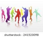 dancing people | Shutterstock .eps vector #241523098