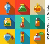 perfume flat icons set ... | Shutterstock .eps vector #241523662