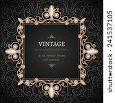 Vintage Gold Background  Square ...