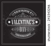 typography valentine's day