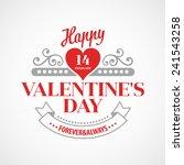 Typography Valentine\'s Day Cards
