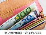 Euro Money In Wallet